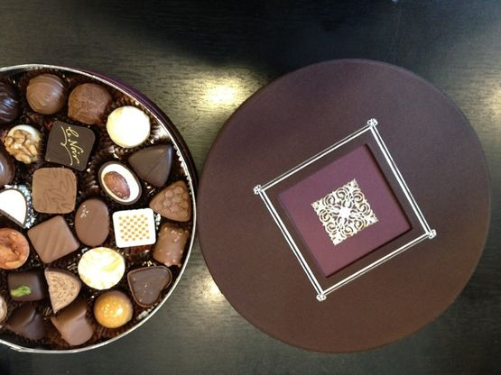 Boxes of chocolates - La Chocolaterie de Genève